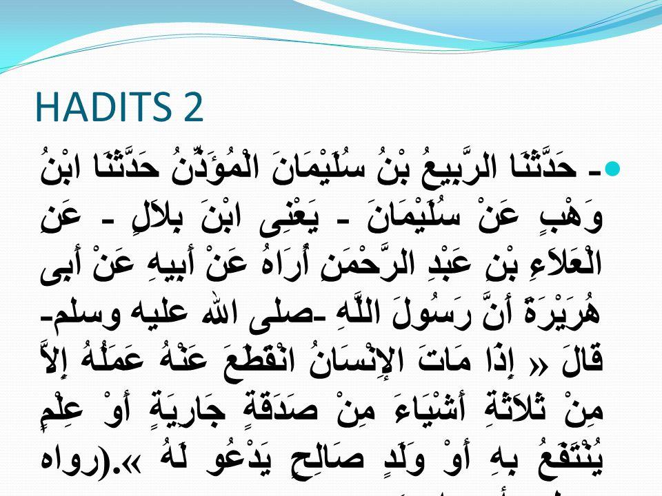 HADITS 2