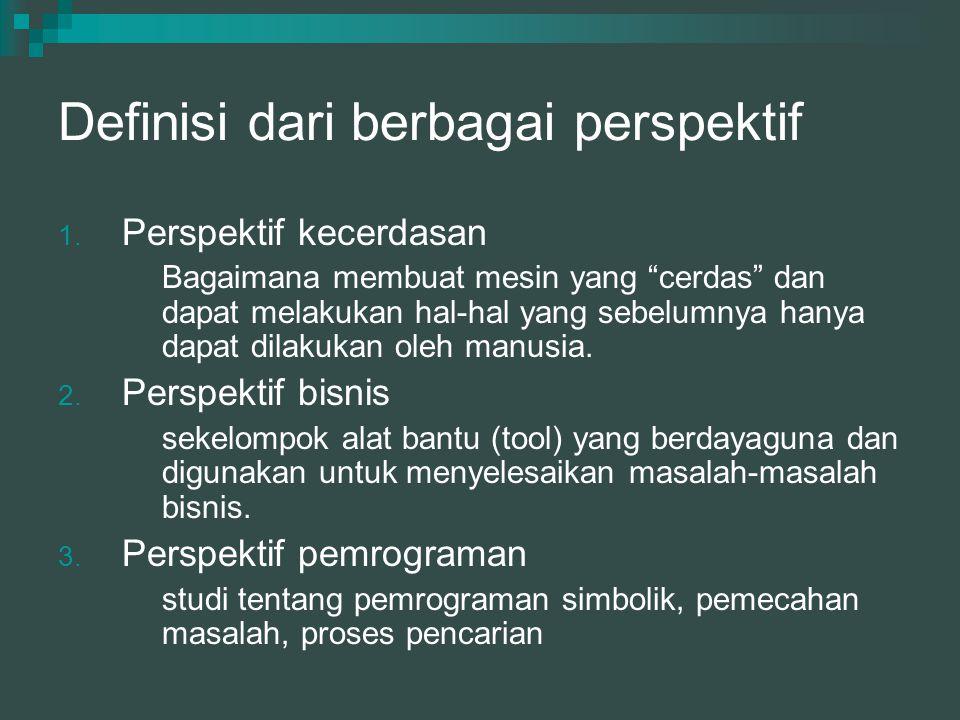 Definisi dari berbagai perspektif