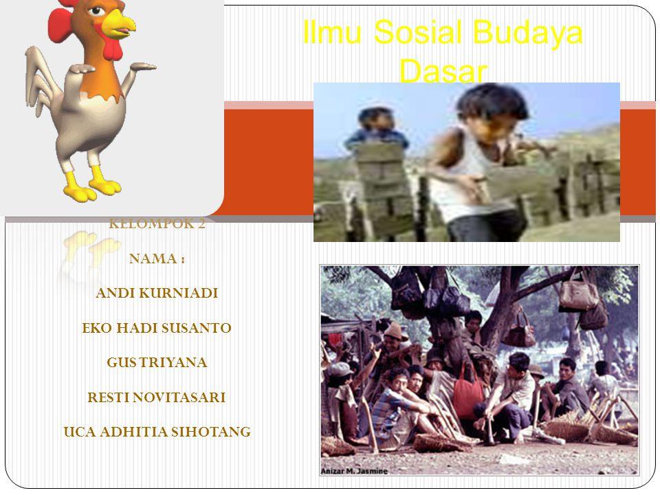 Ilmu Sosial Budaya Dasar