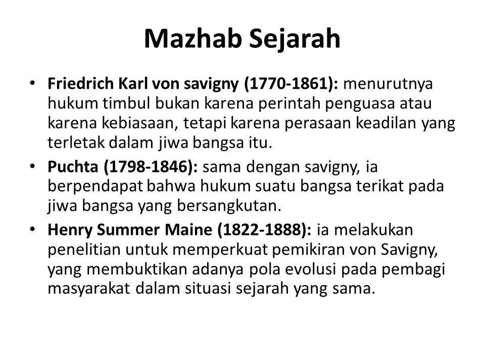 Mazhab Sejarah