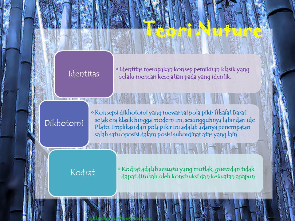 Teori Nuture Identitas
