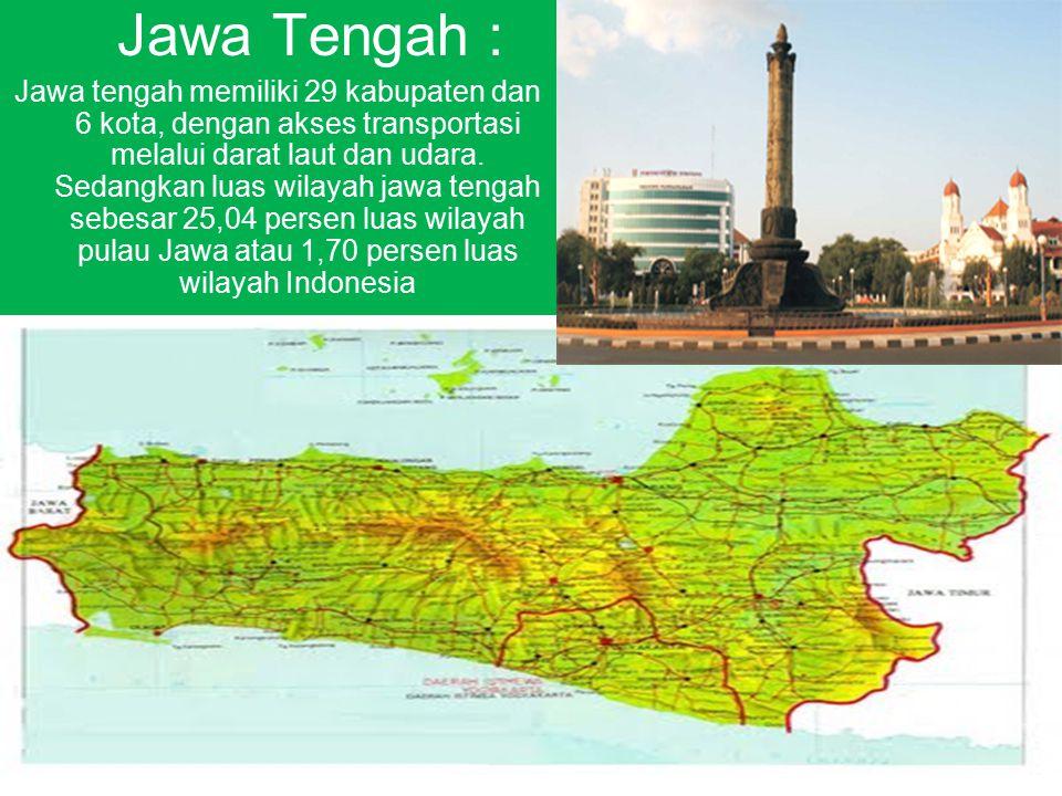Jawa Tengah :