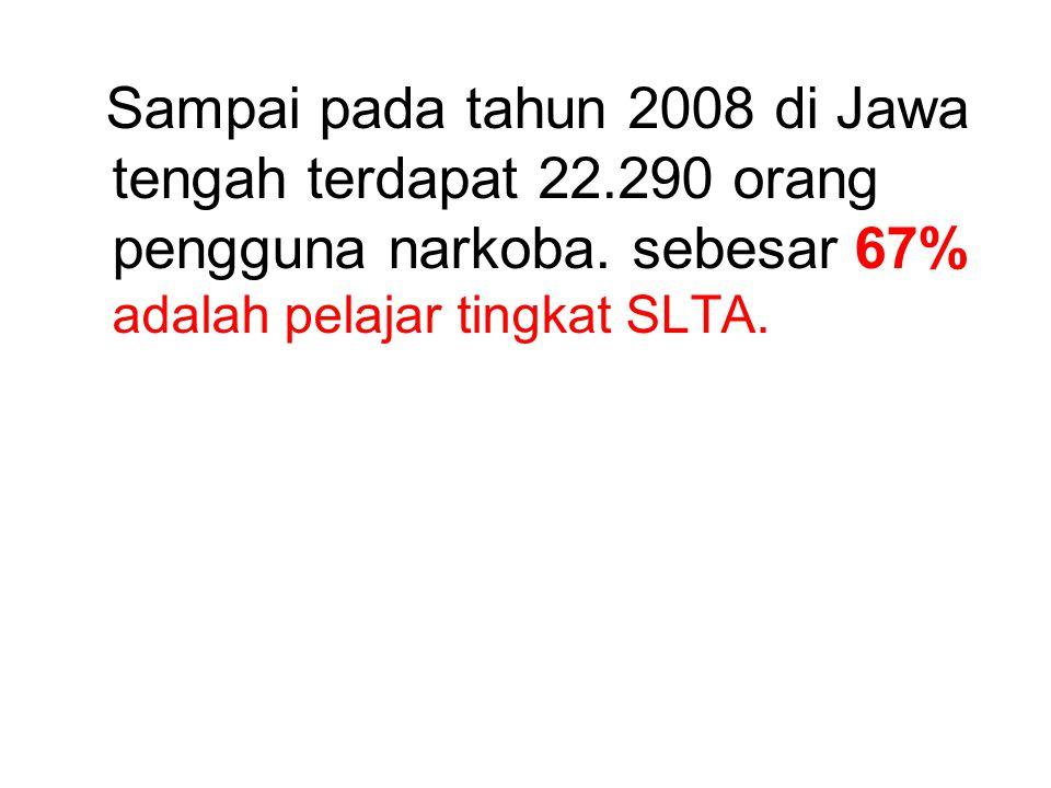 Sampai pada tahun 2008 di Jawa tengah terdapat 22