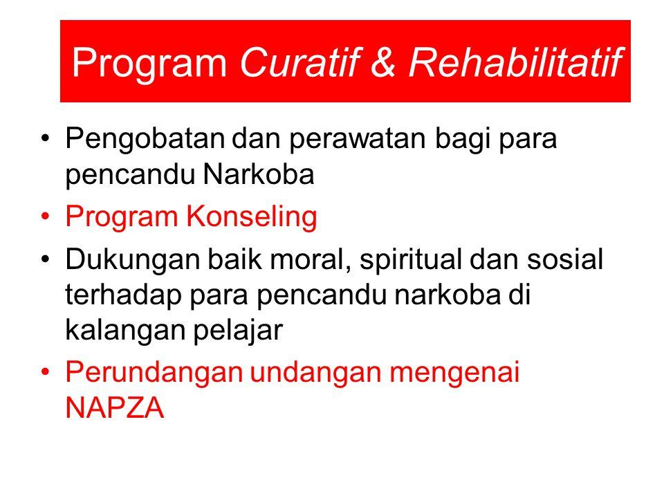 Program Curatif & Rehabilitatif