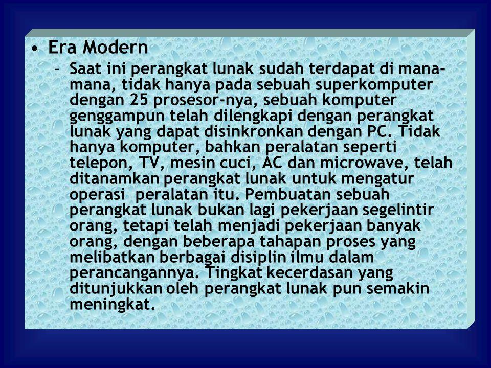Era Modern