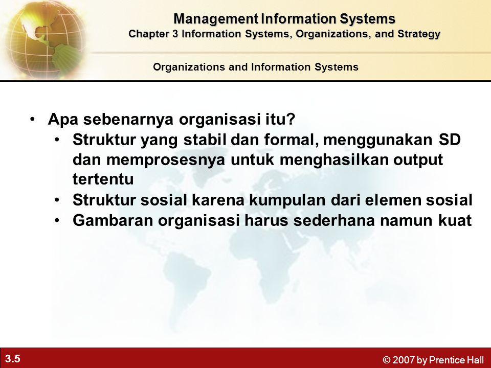 Apa sebenarnya organisasi itu