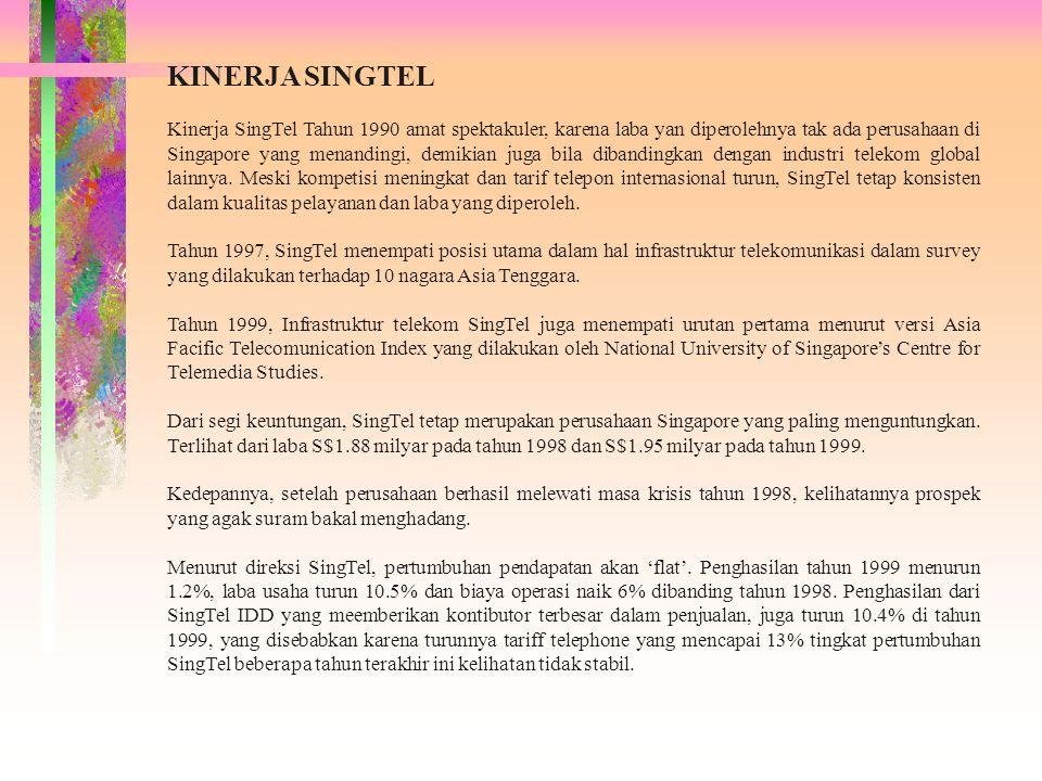 KINERJA SINGTEL