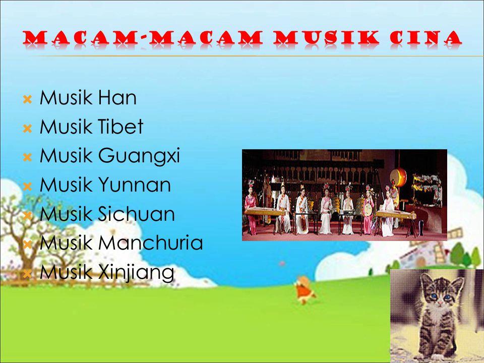 Macam-macam Musik Cina