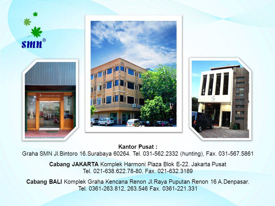 Cabang JAKARTA Komplek Harmoni Plaza Blok E-22. Jakarta Pusat