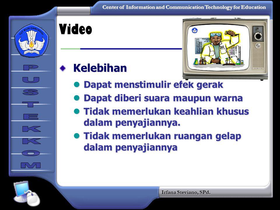 Video Kelebihan Dapat menstimulir efek gerak
