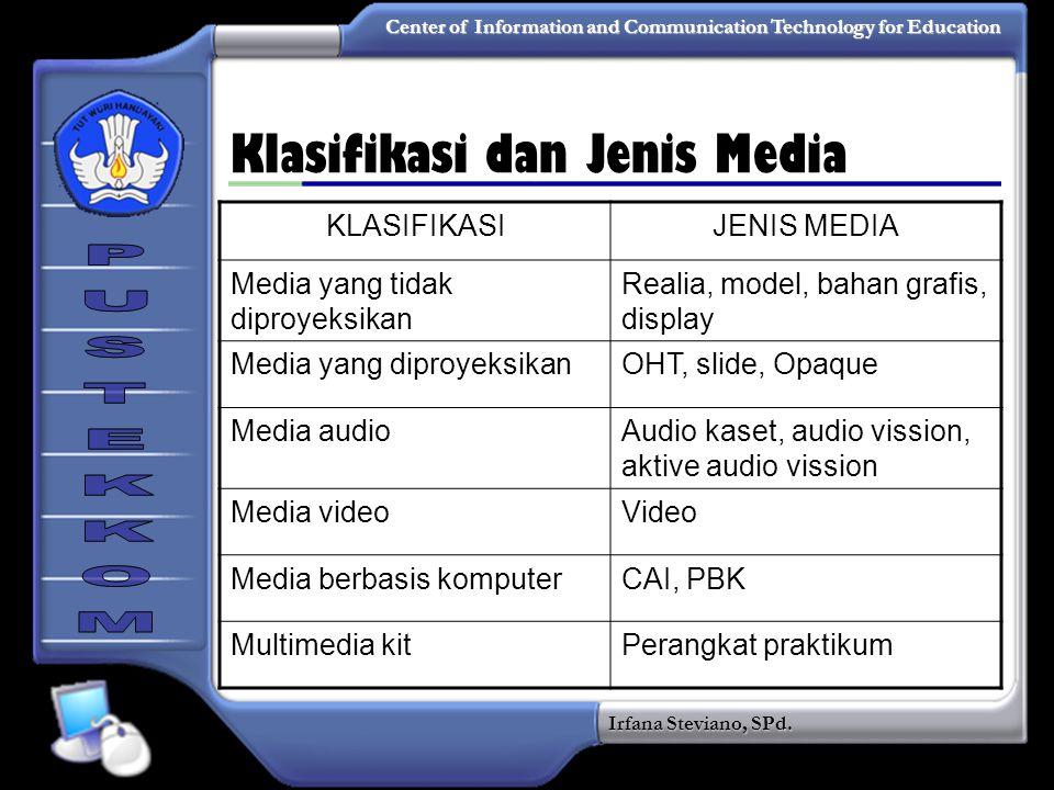 Klasifikasi dan Jenis Media