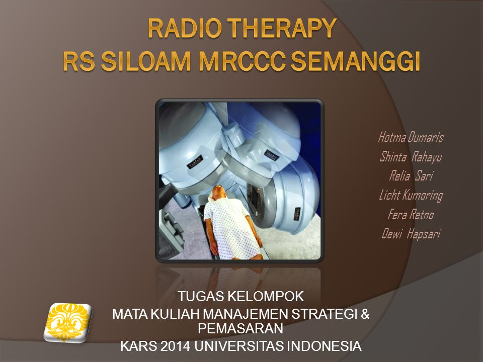 Radio tHerapY rs siloam mrccc semanggi