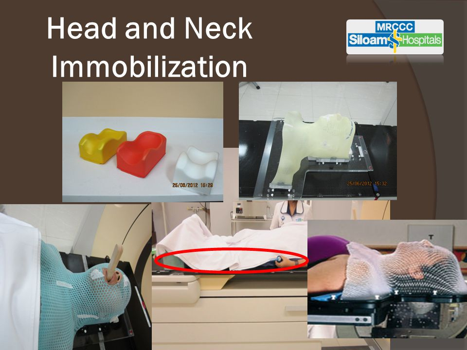 Head and Neck Immobilization