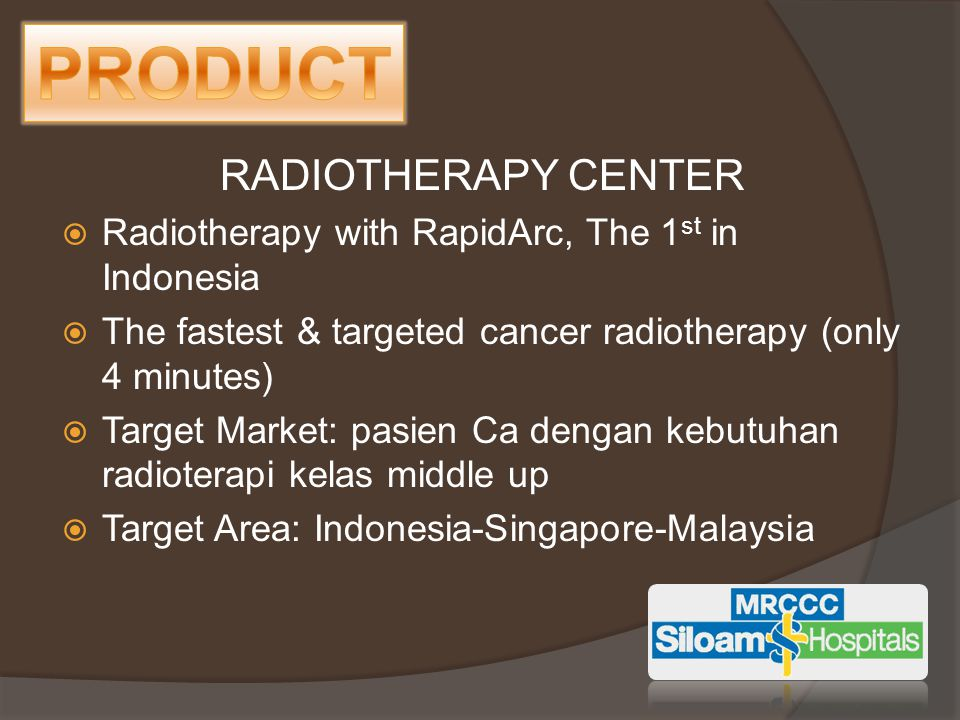 PRODUCT RADIOTHERAPY CENTER