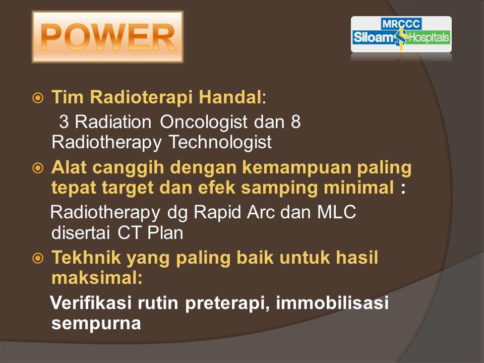 POWER Tim Radioterapi Handal: