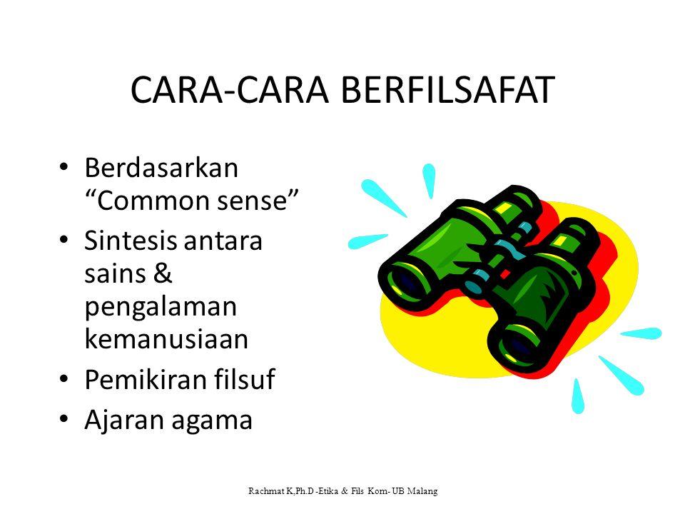 CARA-CARA BERFILSAFAT