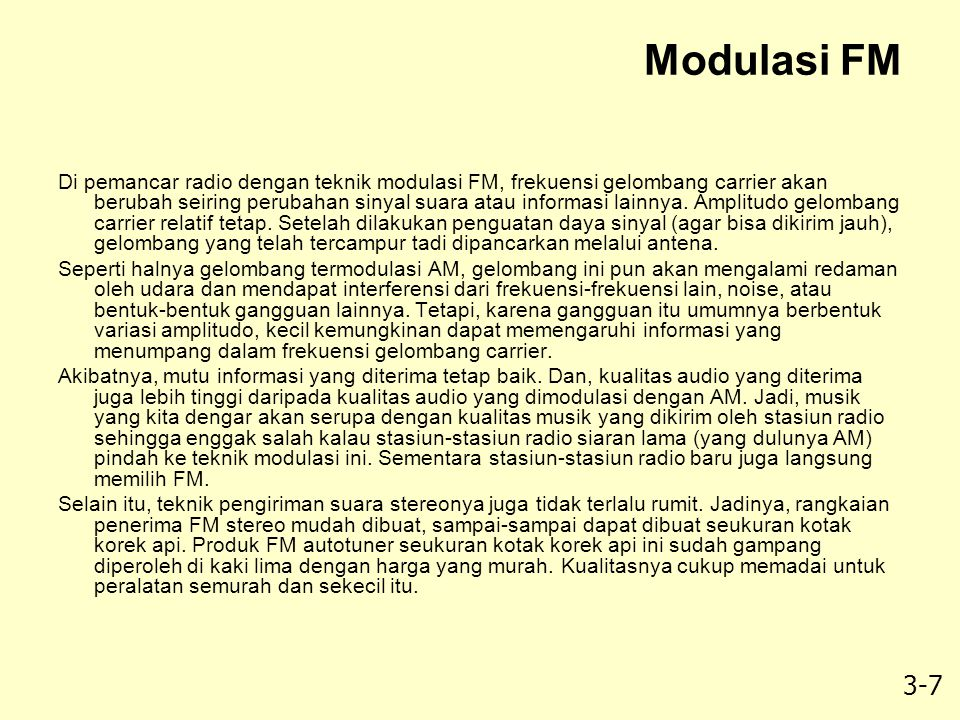 Modulasi FM
