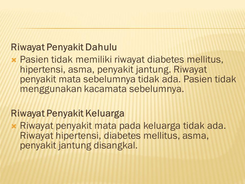 Riwayat Penyakit Dahulu