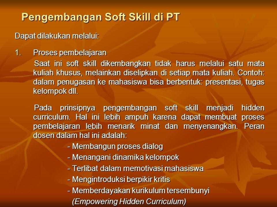 Pengembangan Soft Skill di PT