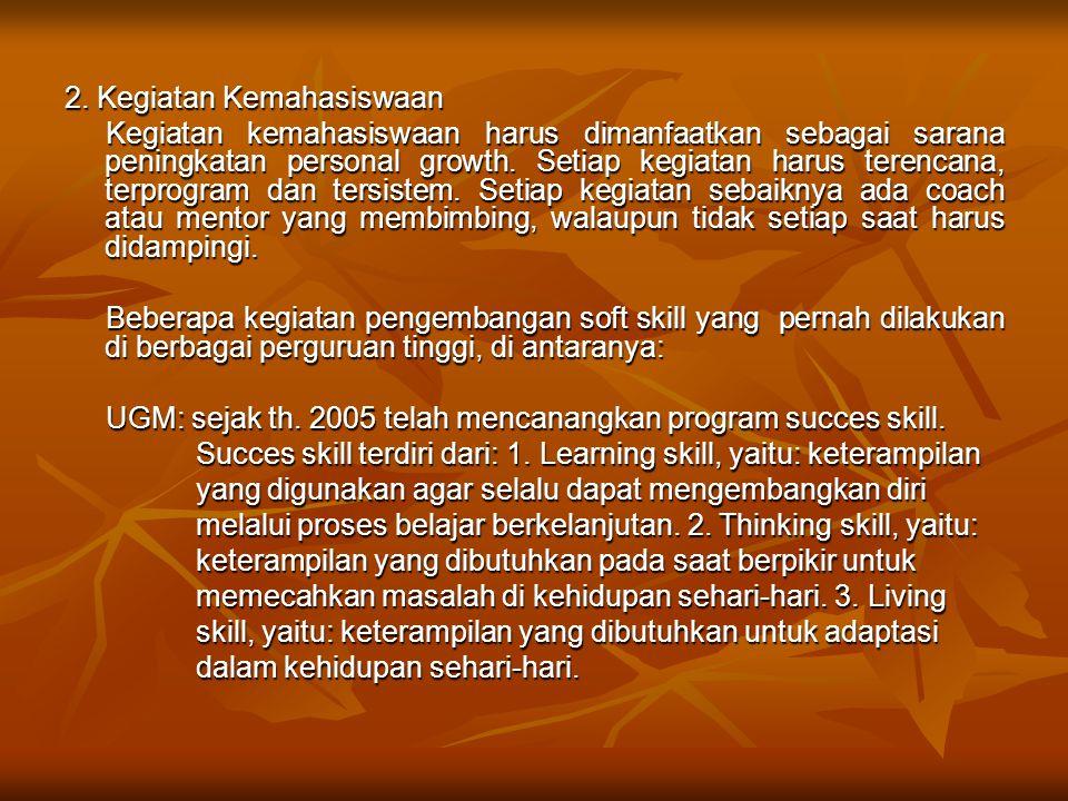 2. Kegiatan Kemahasiswaan