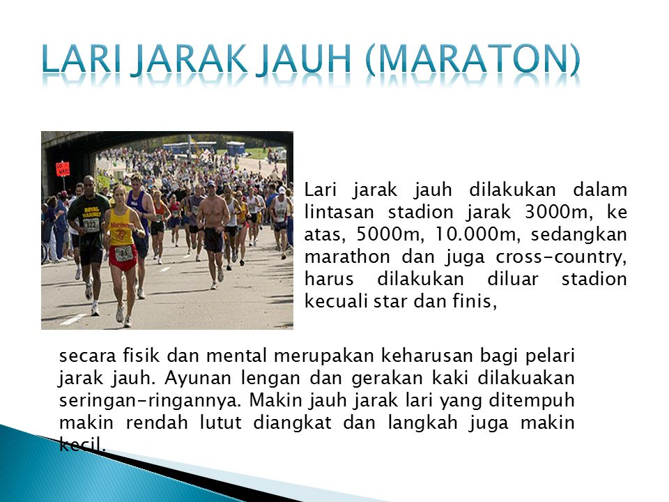 Lari jarak jauh (maraton)