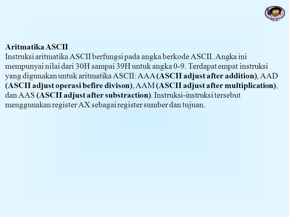 Aritmatika ASCII