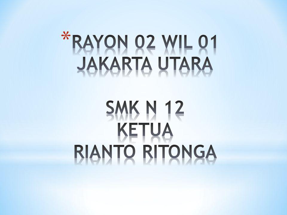 RAYON 02 WIL 01 JAKARTA UTARA SMK N 12 KETUA RIANTO RITONGA
