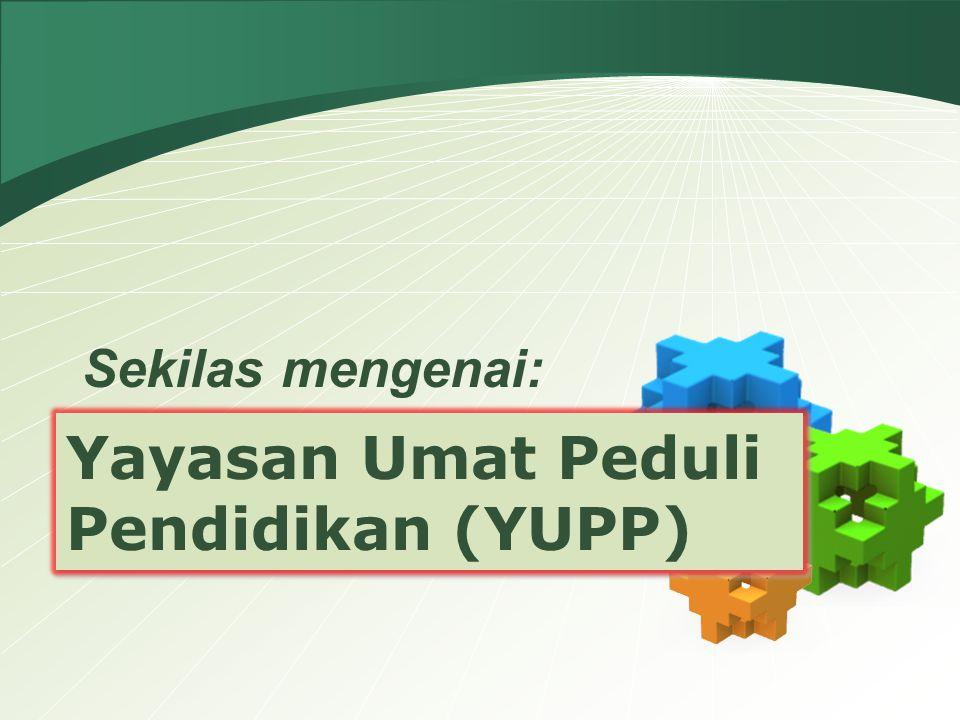 Yayasan Umat Peduli Pendidikan (YUPP)