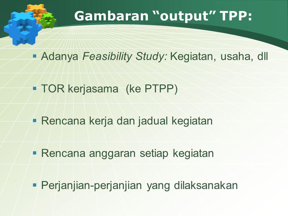 Gambaran output TPP: