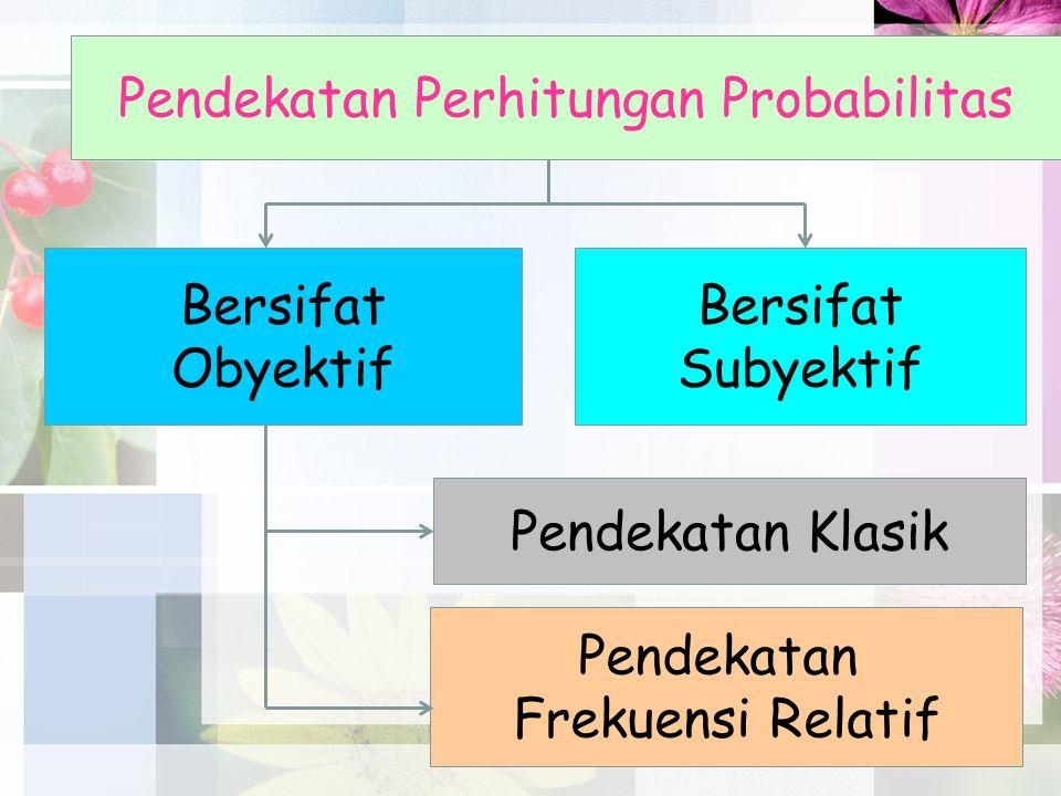 Pendekatan Perhitungan Probabilitas