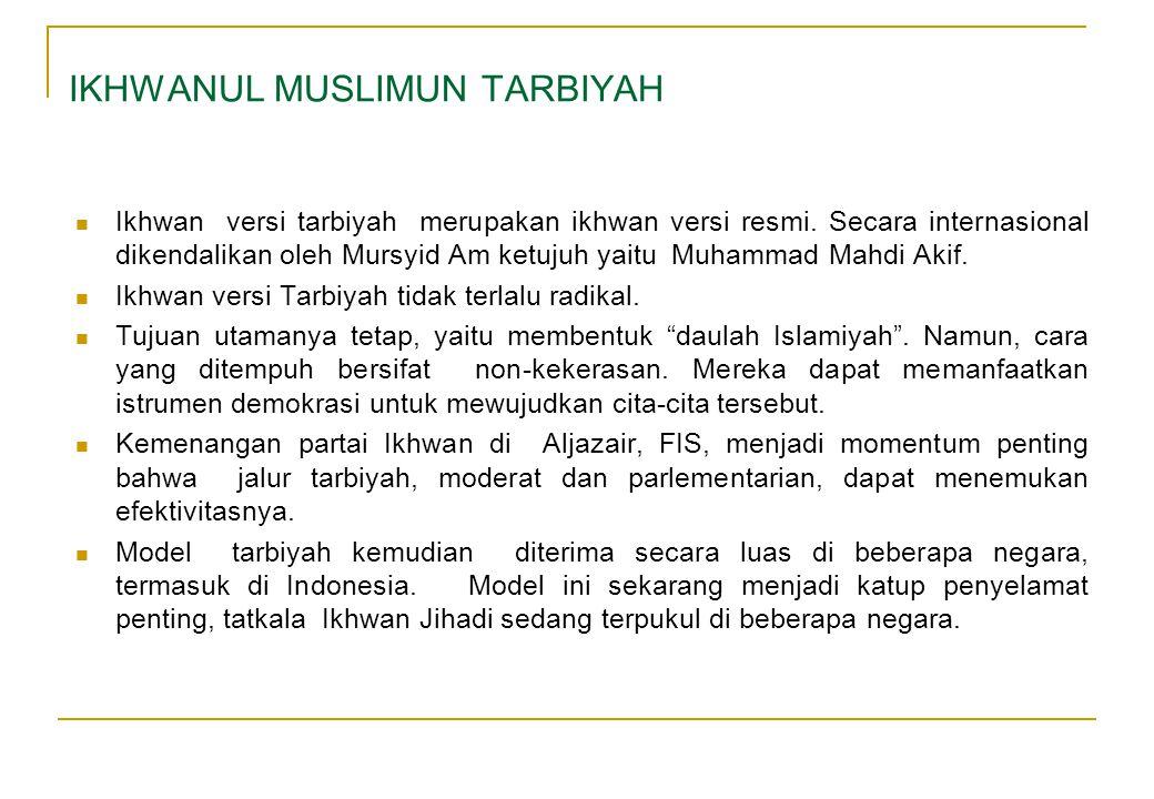 IKHWANUL MUSLIMUN TARBIYAH
