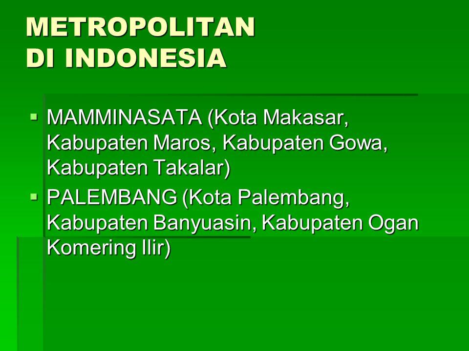 METROPOLITAN DI INDONESIA