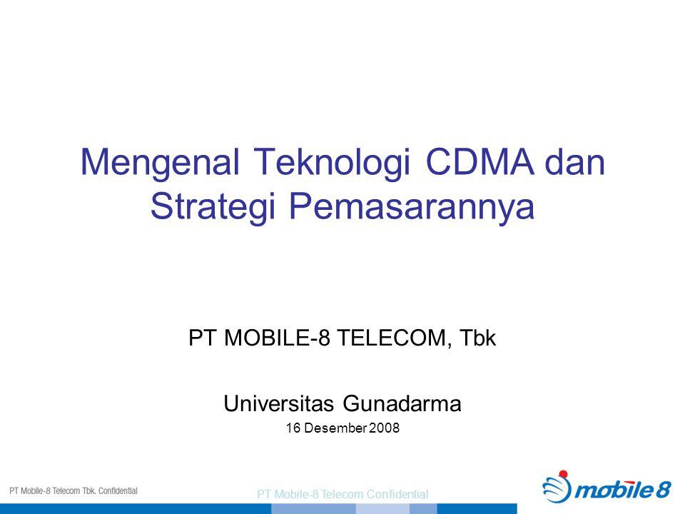 Mengenal Teknologi CDMA dan Strategi Pemasarannya