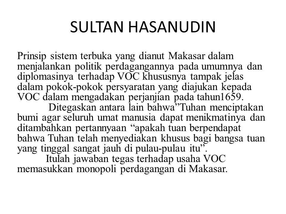 SULTAN HASANUDIN
