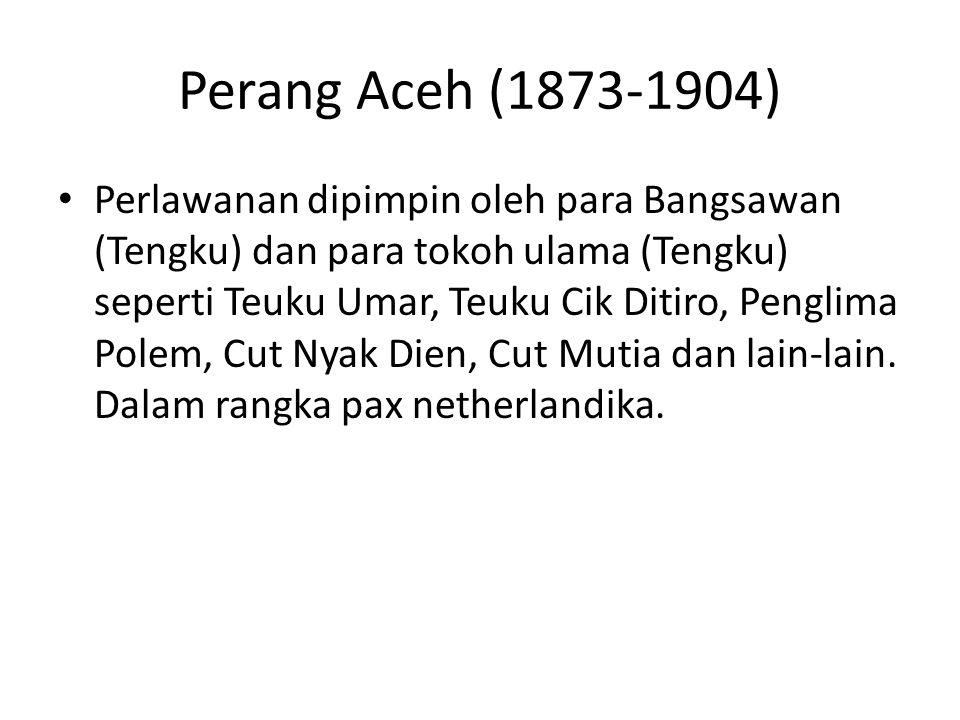 Perang Aceh (1873-1904)