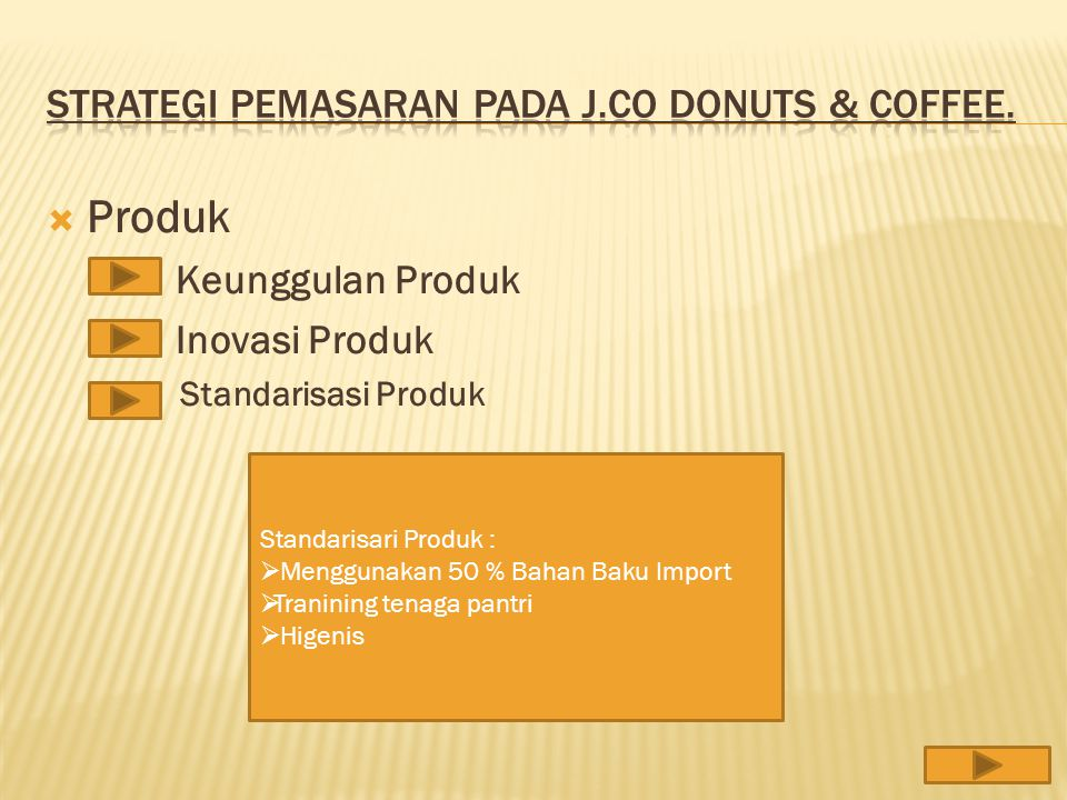 Strategi Pemasaran Pada J.co Donuts & Coffee.