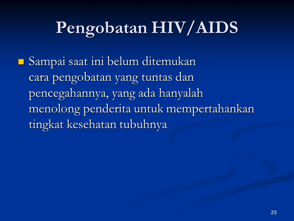Pengobatan HIV/AIDS