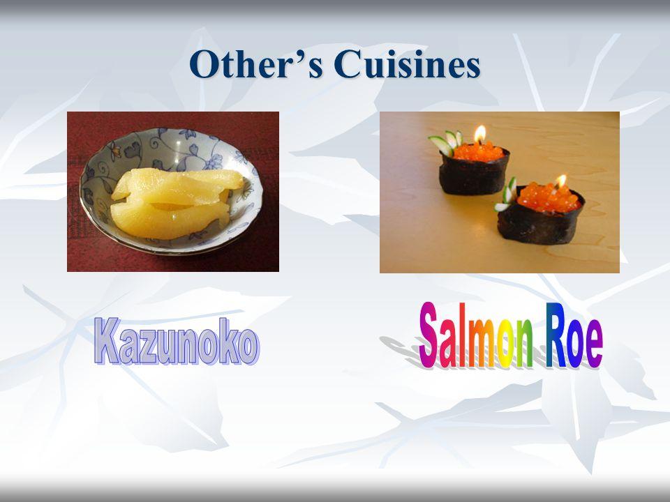 Other's Cuisines Salmon Roe Kazunoko