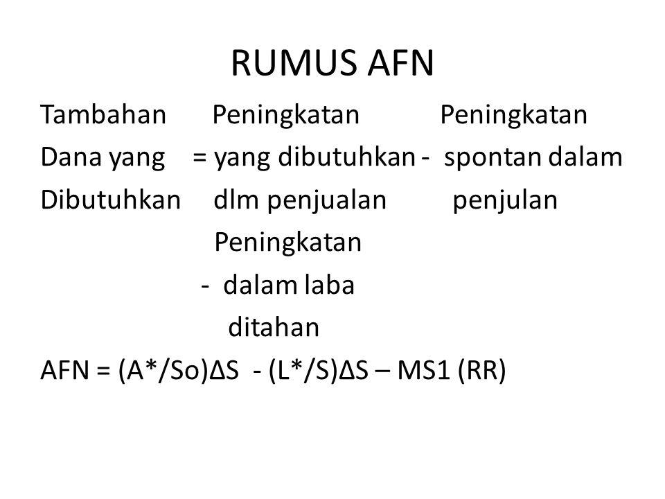 RUMUS AFN