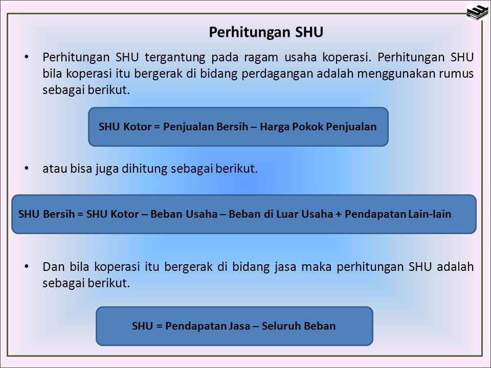 Perhitungan SHU