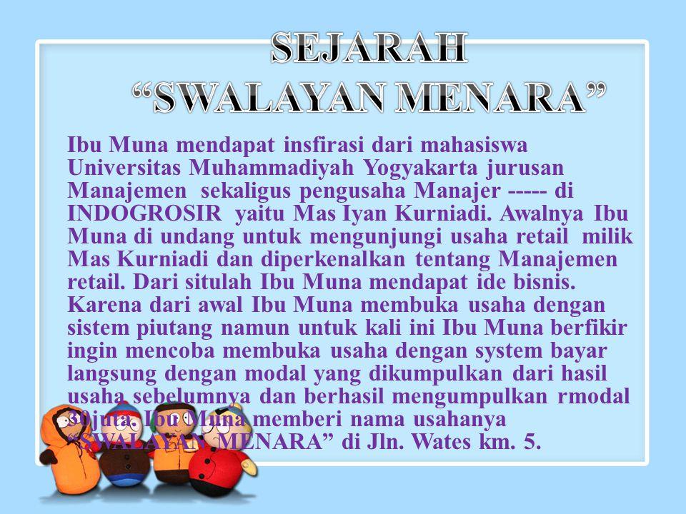 SEJARAH SWALAYAN MENARA
