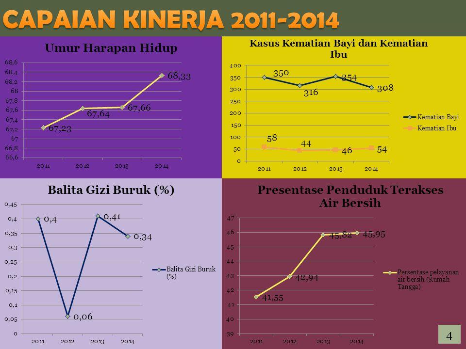 CAPAIAN KINERJA 2011-2014 4