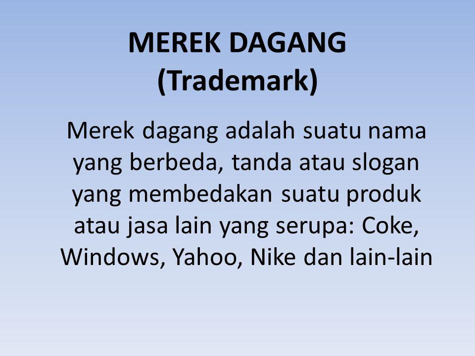 MEREK DAGANG (Trademark)
