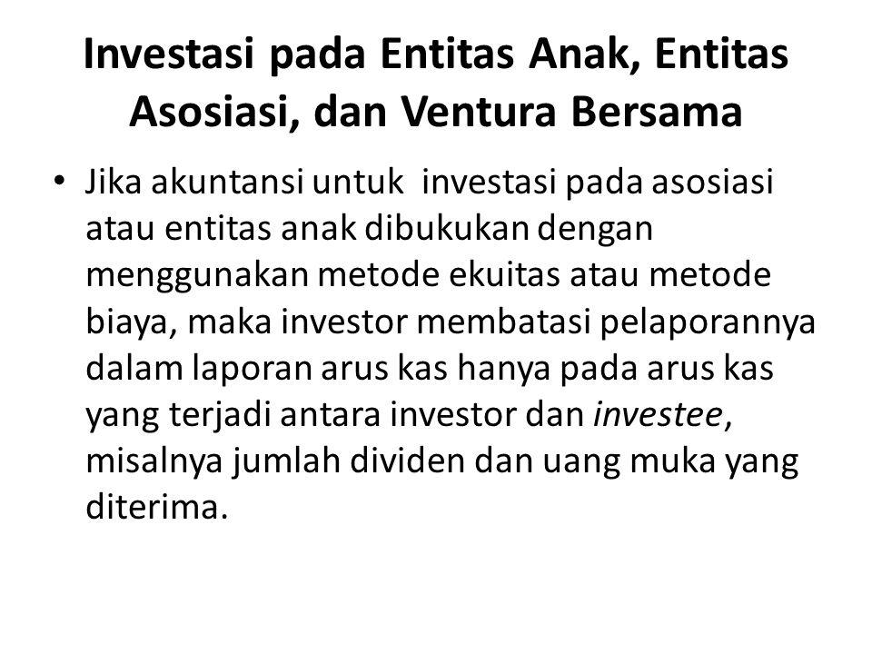 Investasi pada Entitas Anak, Entitas Asosiasi, dan Ventura Bersama