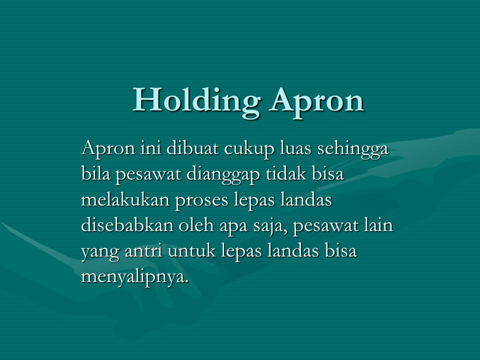 Holding Apron