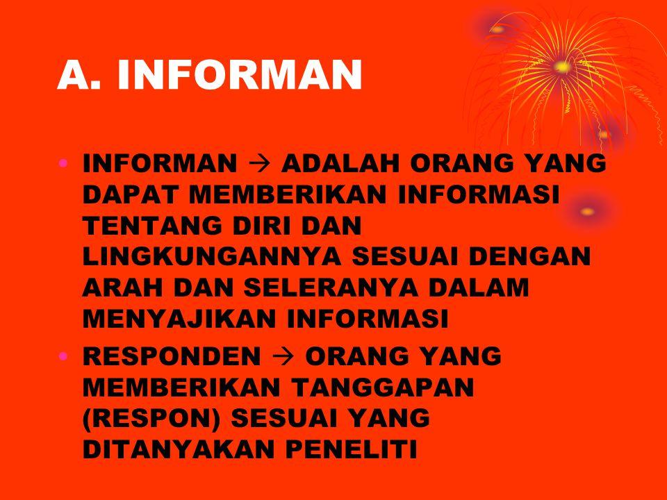 A. INFORMAN