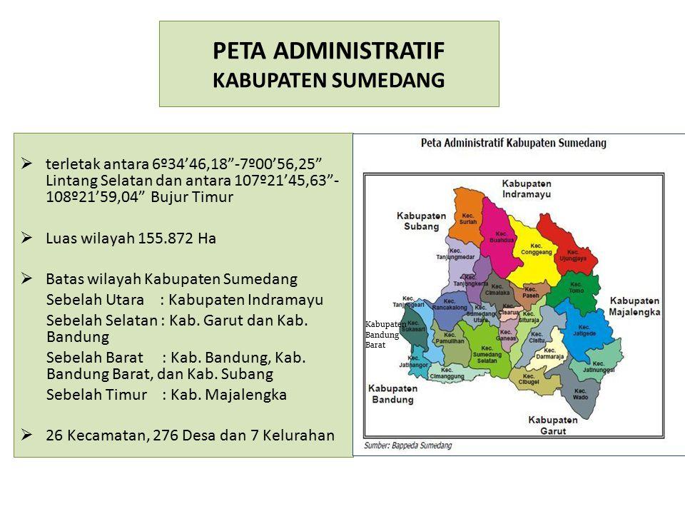 PETA ADMINISTRATIF KABUPATEN SUMEDANG