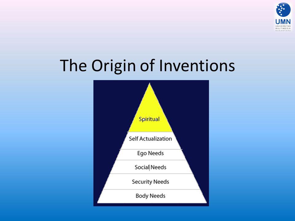 The Origin of Inventions