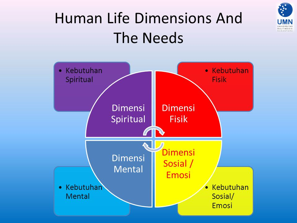 Human Life Dimensions And The Needs