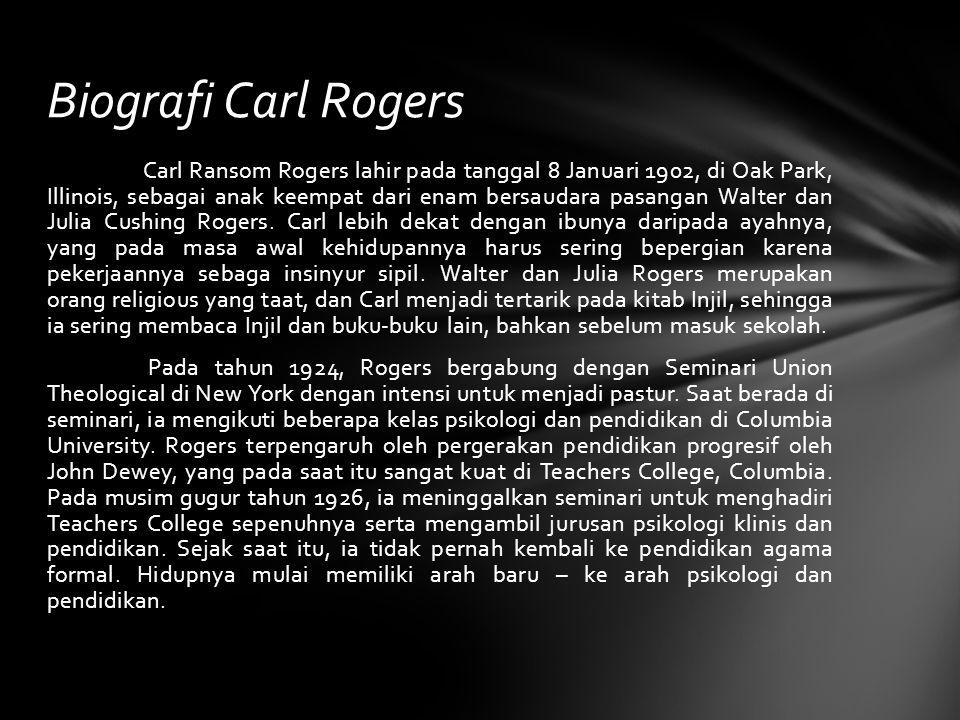 Biografi Carl Rogers